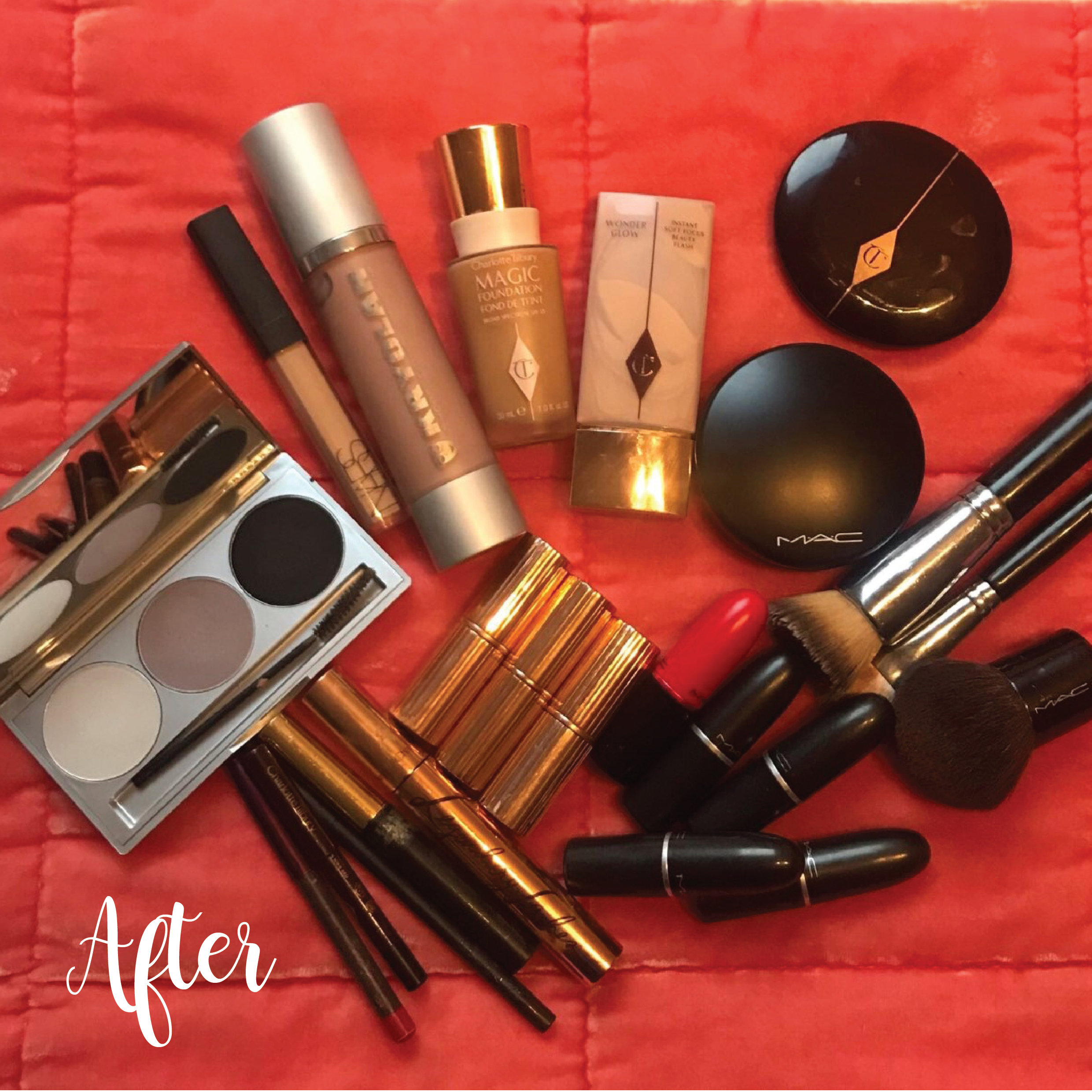 Does your Make-up bag need an edit?